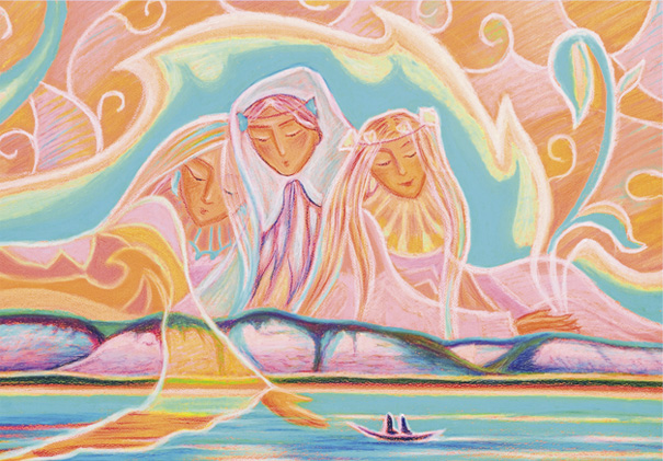 Три сестры. Из серии «Сказка Якутии»