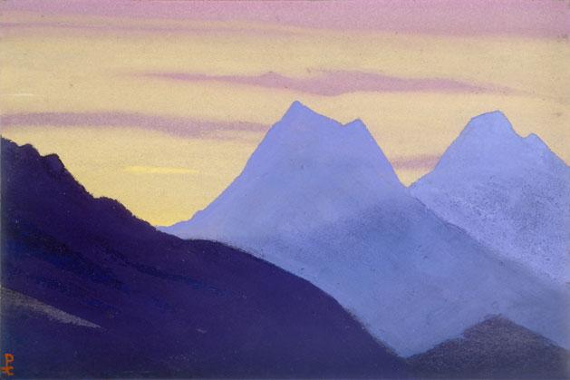 Вечер [Горный дозор]. 1941 Evening [The Mountain Watch]