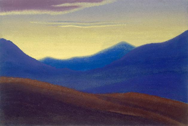 Гималаи [Солнце зашло]. 1941 Himalayas [The Sun has Gone Down]