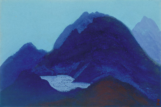 Горное озеро. 1941 The Mountain Lake
