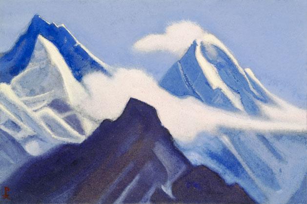 Гималаи [Зовущая песнь вершин]. 1941 Himalayas [The Calling Song of the Peaks]