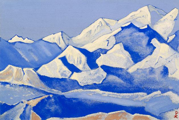 Гималаи [Пространство вечных снегов]. 1941 Himalayas [The Space of Eternal Snows]