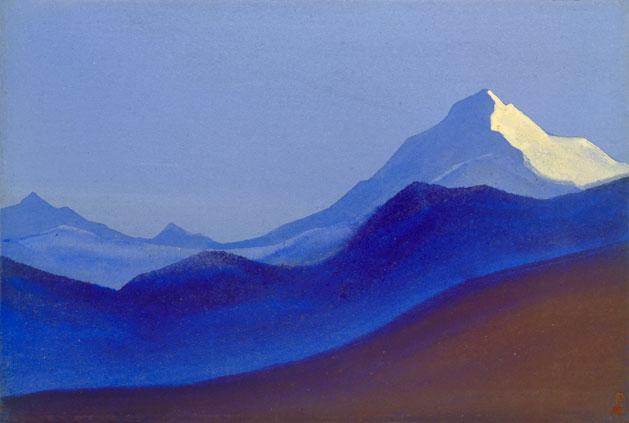 Гималаи [Канченджанга]. 1941 Himalayas [Kanchenjunga]