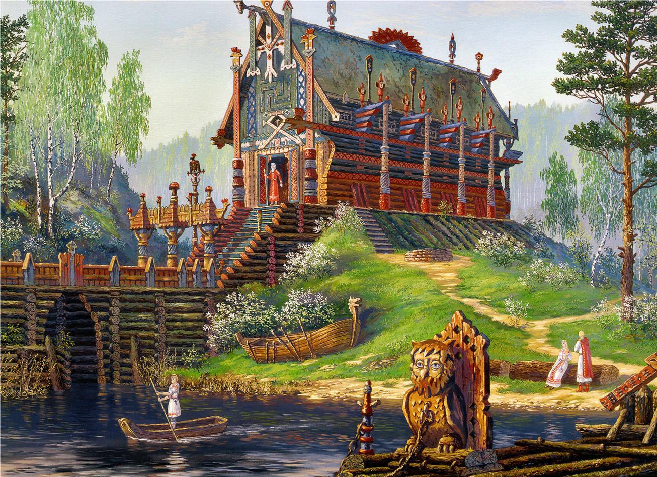Храм Свентовида бога весны