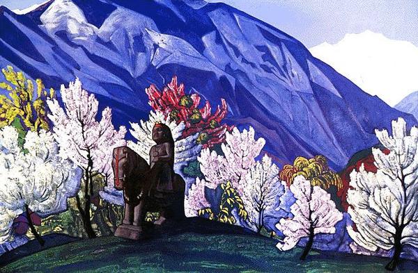 Н.К. Рерих. Гуга Чохан (1931)