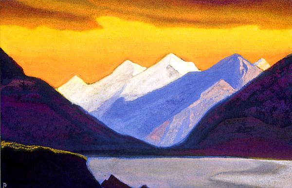 """Николай Рерих. """"Гималаи.Творчество света"""". 1942"""
