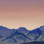 Кулута [Поднебесье]. 1935–1936 Kuluta [The Firmament] Картон, темпера. 30,7 х 45,8