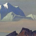 Скалы. 1935–1936 The Rocks Картон, темпера. 30,4 х 45,7